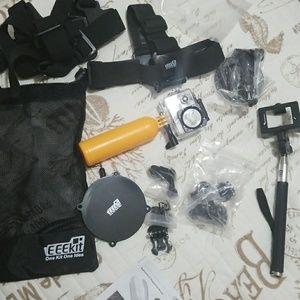 GoPro accessary kit